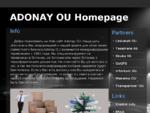 Adonay Homepage