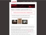 ADP CZ, a. s. je společnost pohybující se na trhu Informačních technologií se širokým záběrem činn