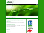 Adpap chemical handling business combines engineering, manufacturing, project handling, testing,
