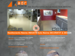 ADR résine une entreprise innovante  sol décoratif et industriel. Aspect béton ciré. Rhône alpe...
