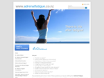 Adrenalfatigue. co. nz - Learn about stress and Adrenal Fatigue