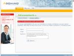 adressenbuch. de im Adomino. com Domainvermarktung Netzwerk