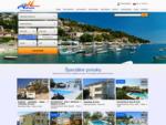 Dovolenka Chorvátsko 2014, Ubytovanie v Chorvátsku Apartmány a Hotely, Dovolenkové domy Vily Dovol