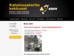 ADSV Group OÜ — Katalüsaatorite kokkuost, parim hind Eestis