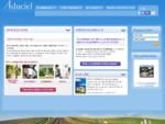 Aduciel, site de souscription en ligne du cabinet Albinet, courtier d'assuranceFrançais (France).