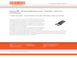 AdvancedMC - Advanced Mezzanine Cards, AMC Boards, Moderkort, Datorer, Inbyggda System