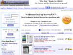 EzyAuctioNZ - Free Online Auctions and Classifieds site - Sell stuff for free, use a free auction s
