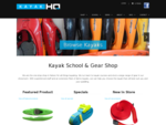 Kayak HQ | Kayak HQ. Kayak School, gear store and on-line shop. Nelson, New Zealand