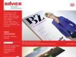Advice - reclamebureau Zwolle - concept, ontwerp, internet, grafisch ontwerp, webdesign