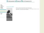 Stadelmann Gubler Rechtsanwälte - 8570 Weinfelden