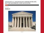 ADVOCAAT 1 | UW ADVOCAAT ZOEKEN IN BELGIà‹ | NUTTIGE INFORMATIE OVER ADVOCATEN