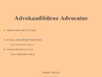 Advokaadibüroo Advocatus