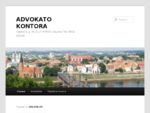 ADVOKATO KONTORA | KÄstučio g. 35-3, LT-44307, Kaunas Tel. 8652 64199