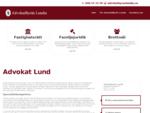 Hos din advokat i Lund får du hjälp med alla dina juridiska frågor. Din advokat i Lund har kompet