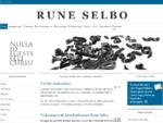 Advokat Rune selbo i bærum Sandvika.