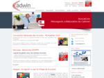 Société Adwin  solutions pour cabinets d'avocats - écoles d'avocats - ordres d'avocats. Mess...
