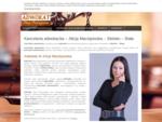 Kancelaria Adwokacka adwokat Alicji Maciejowskiej w Bielsku - Białej świadczy usługi prawne w zakres