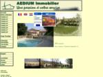 Aedium immobilier drome ardeche Crest Die Livron sur drome Valence vente achat maison à vendre 26 vi
