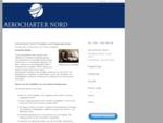 Aerocharter Nord, Flugzeugcharter, Air Charter