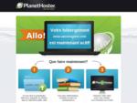PlanetHoster solutions d'hébergement web, que ce soit des hébergements mutualisés, des plans rev...