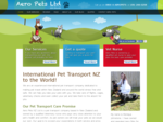 Aero Pets International Pet Transport Travel New Zealand