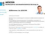 AESCON Betriebswirtschaftliche Beratung Praxisvermittlung Radiologie Strahlentherapie ...
