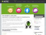 Uw energie is onze zorg specialist in groene hernieuwbare energie – Aetec