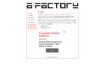 AFactory. Design Studio -- Tvorba webových stránek, redesign stránek, registrace do vyhledávačů,
