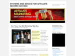 AFFILIATE MARKETING SALES SYSTEMS FOR AFFILIATE INCOME SUCCESS | AffiliateMarketingCash. ca