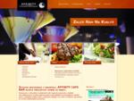 Affinity Cafe Bar restaurace Bruntál nabízí polední menu. Steaky připravované nejnovějšími technolo
