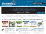 Affordablewebs | Sydney Web Designers | Custom Web Design for small to medium businesses | Profes