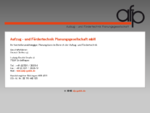 afp-gmbh. de | Aufzug - und Fördertechnik Planungsgesellschaft mbH
