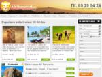 Safari i Afrika – safarireiser til Afrika spekket med opplevelser