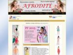 Salón Afrodité Strakonice - Nabízíme široký výbìr spoleèenských šatù, svatebních šatù, šatù do tan