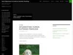 Eesti Afganistani hurtade ja Salukide Tõuühing | Afghan Hound and Saluki Breed Club of Estonia