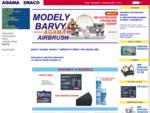 Agama barvy, modely, modelářská barva agama color, model, airbrush, velkoobchod DRACO