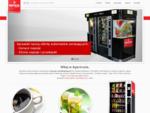 Jesteśmy autoryzowanym operatorem maszyn vendingowych firm Maspex Wadowice i Mondelez International