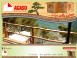 AGASO - Prefabbricati in legno - Preingressi - Casemobili - Bungalow - Box giardino auto cavalli - U
