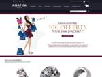 AGATHA bijoux en ligne, bracelets, charms, colliers, bagues, boucles d'oreilles, montres…