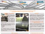 AGCM cintrage grand rayon et rayon court de tubes et profils acier, inox prototype et grande série
