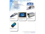 AGEA Technologies, terminaux portables, tablettes tactiles durcies, imprimantes professionnelles,