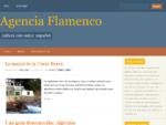 Agencia Flamenco - Cultura con sabor español