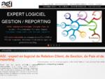 AGI - Intégrateur de logiciel CRM, gestion commerciale, paie rh , ERP et tableau de bord BI pou