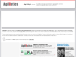 Agilistics - Supply chain risk management and information technology consulting