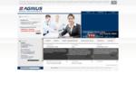 Aginus - strona główna - Hosting, Projektowanie bezpłatne projekty stron internetowych, strony in