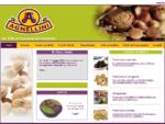Frutta secca morbida, con guscio, sgusciata e tostata | Importazione, confezionamento, ...