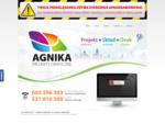 Firma AGNIKA specjalizuje się w kreatywnych projektach graficznych oraz przygotowaniem prac do druku