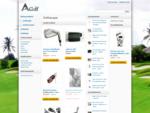 A-golf on täyden palvelun golfkauppa, mistä saat kaikkea mitä tarvitset. Meiltä