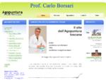 Dottor Carlo Borsari Agopuntura in Toscana - a Pisa dal 1969 e a Lucca