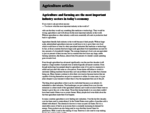 Agriculture articles at agriculture. lt